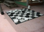 Checkers at Castaway Cay